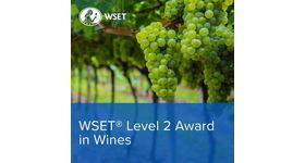 Inscrivez-vous à la session Niveau 2 du WSET