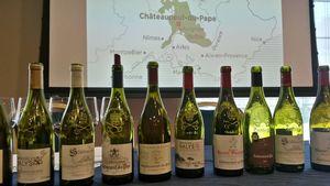 Châteauneuf-du-Pape était présente au IWSP, le salon international du vin à Prague