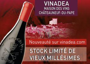 Stock Limité de Vieux Millésimes sur vinadea.com et en boutique !
