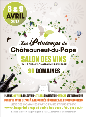 La 8ème édition des Printemps de Châteauneuf-du-Pape