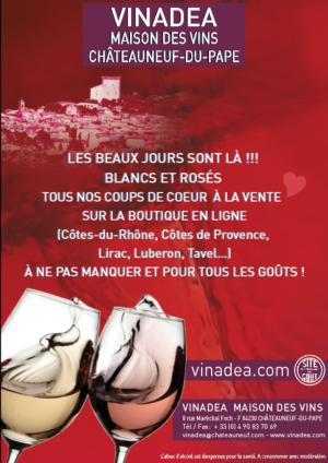 COUP DE COEUR <3 VINADEA.COM : BLANCS ET ROSÉS