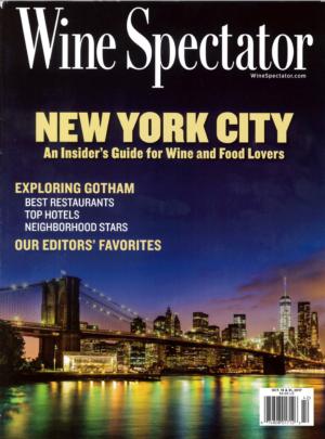 WINE SPECTATOR Oct. 2017
