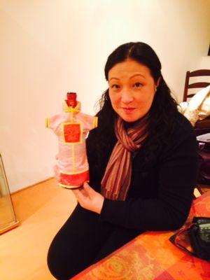 Lin Hua, la journaliste chinoise « fidèle » à Châteauneuf-du-Pape