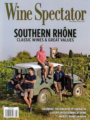 Wine Spectator November 2018 - Southern Rhône