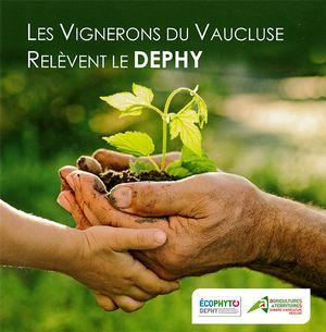 INNOV'ACTION « Le rendez-vous des exploitations qui innovent » présent à Châteauneuf-du-Pape