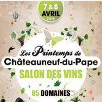 Du 7 au 8 avril 2018, venez découvrir Les Printemps de Châteauneuf-du-Pape et son nouvel atelier