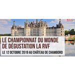 CHÂTEAUNEUF-DU-PAPE PARTENAIRE DU CHAMPIONNAT DU MONDE DE DÉGUSTATION À L'AVEUGLE