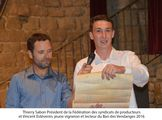 Ban des vendanges 2016 à Châteauneuf-du-Pape