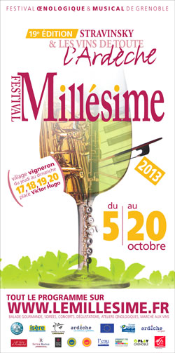 Salon du mill sime aoc ch teauneuf du pape vinadea for Salon vin grenoble