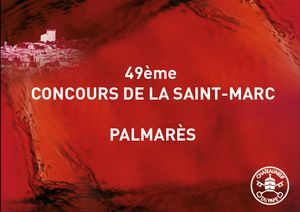 Concours de la Saint-Marc : Le Palmarès 2015