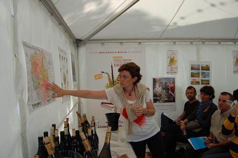 Salon le mill sime aoc ch teauneuf du pape for Salon vin grenoble