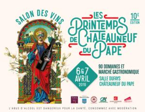 6 & 7 avril 2019 Les Printemps de Châteauneuf-du-Pape