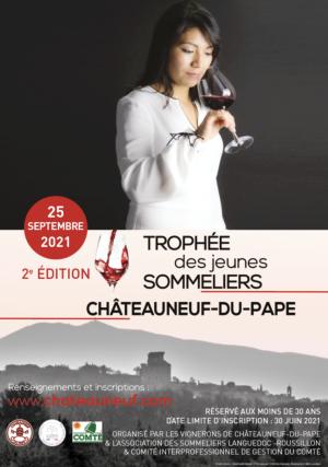 25 Sept. 2021 TROPHEE CHÂTEAUNEUF-DU-PAPE DES JEUNES SOMMELIERS