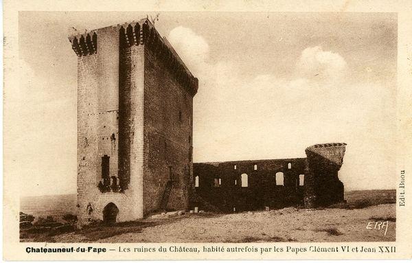 Le château en 1944
