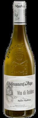 DOMAINE ANDRÉ MATHIEU, Châteauneuf-du-Pape Blanc Vin Di Felibre 2014