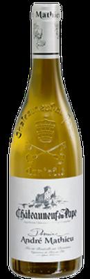 DOMAINE ANDRÉ MATHIEU, Châteauneuf-du-Pape Blanc 2017