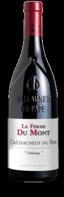 """LA FERME DU MONT, Châteauneuf-du-Pape Rouge """"Vendange"""" 2017"""