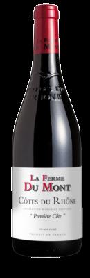 """LA FERME DU MONT, Côtes-du-Rhône Rouge """"Première Côte"""" 2017"""