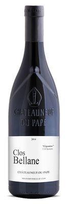 """CLOS BELLANE, Châteauneuf-du-Pape Rouge  """"Urgonien"""" 1.14 Ha  2017"""