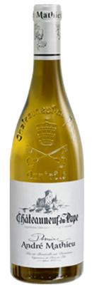 DOMAINE ANDRÉ MATHIEU, Châteauneuf-du-Pape Blanc 2018
