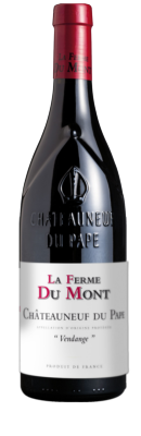 """LA FERME DU MONT, Châteauneuf-du-Pape Rouge """"Vendange"""" 2018"""
