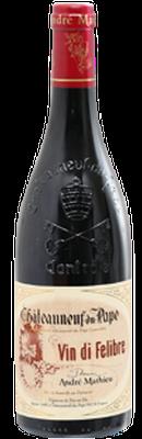 DOMAINE ANDRÉ MATHIEU, Châteauneuf-du-Pape Rouge Vin Di Felibre 2018