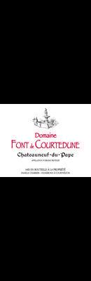 DOMAINE FONT DE COURTEDUNE, Châteauneuf-du-Pape Rouge 2019