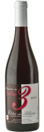 DOMAINE DES 3 CELLIER, Côtes-du-Rhône Rouge Cuvée 3
