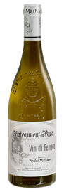 DOMAINE ANDRÉ MATHIEU, Châteauneuf-du-Pape Blanc Vin Di Felibre 2019