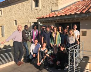 Réception d'étudiants Slow Food International