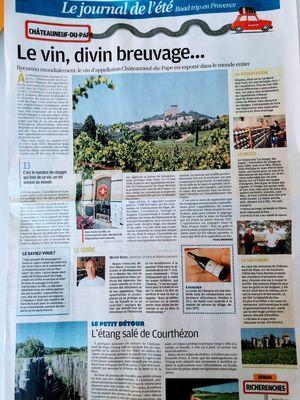 Road trip en Provence à Châteauneuf-du-Pape
