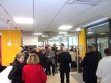 Inauguration de la vitrine oenotouristique à l'Office de Tourime d'Orange